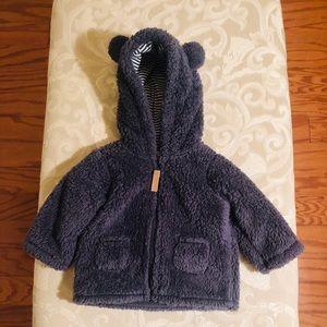 Carter's Baby Boy Coat Sz 0-3 Mths